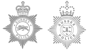Sussex and Surrey Police Forces
